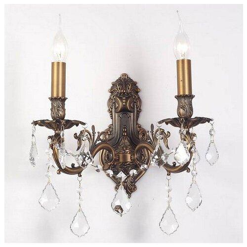 Настенный светильник Lucia Tucci Barletta W122.2 Antique, 120 Вт lucia tucci бра lucia tucci pene w146 1 ivory