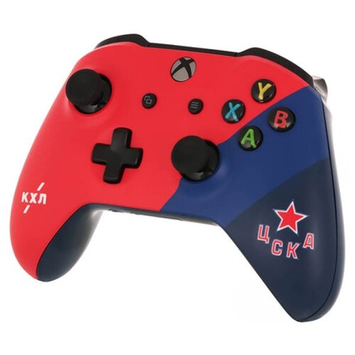 цена на Геймпад RAINBO Xbox One Wireless Controller KHL Series КХЛ ЦСКА