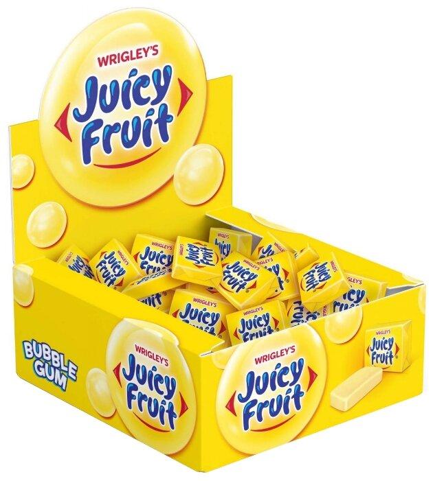Жевательная резинка JUICY FRUIT с ароматом фруктов, 100 штук