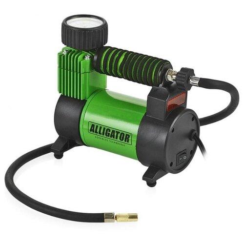 Автомобильный компрессор Alligator AL-350Z зеленый