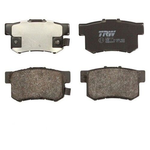 Дисковые тормозные колодки задние TRW GDB3269 для Honda CR-V, Honda Stream (4 шт.) фото
