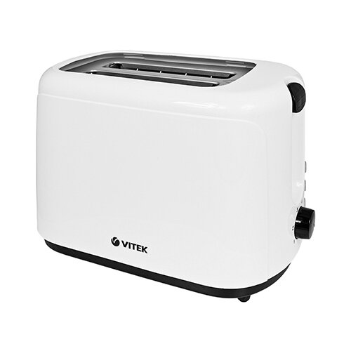 Тостер VITEK VT-1578 BW, белый