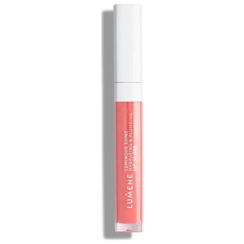 Lumene блеск для губ Luminous Shine Hydrating & Plumping Lip Gloss, 9 peach pink