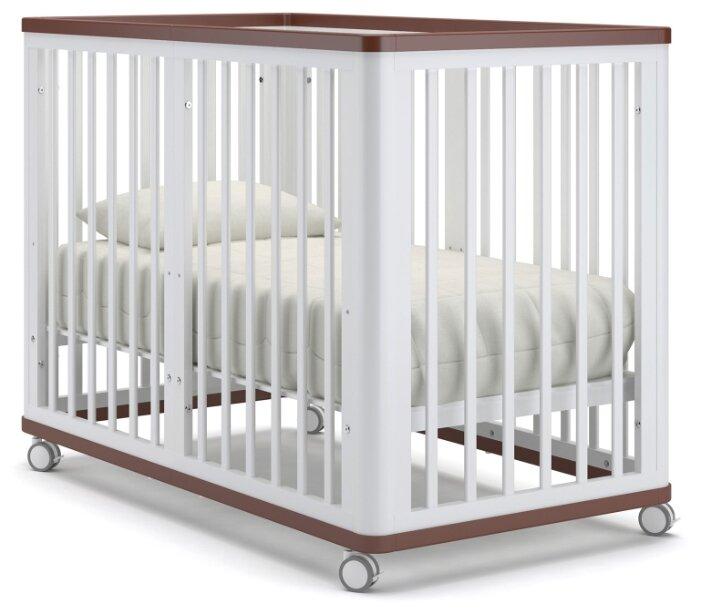Кроватка Nuovita Ferrara (трансформер)