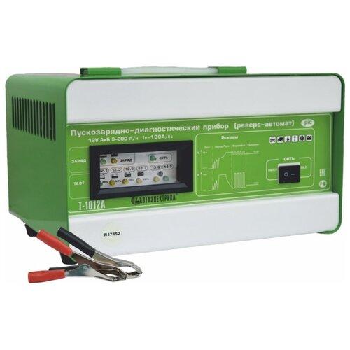 Пуско-зарядное устройство Автоэлектрика Т-1012А зеленый