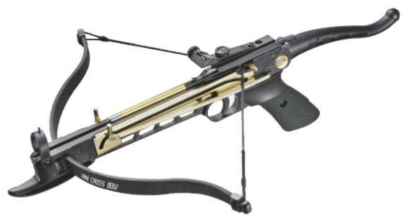 Пистолетный арбалет Man Kung MK80A4AL в комплектации
