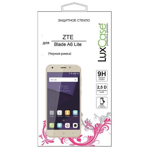 Защитное стекло LuxCase 2.5D FG для ZTE Blade A6 Lite черный