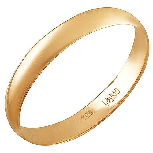 Эстет Обручальное кольцо из красного золота 01О010376, размер 19 ЭСТЕТ