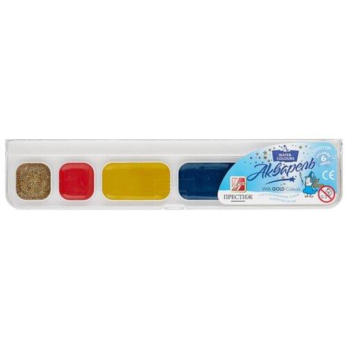 Купить Луч Краски акварельные Престиж 6 цветов, медовые, без кисти (18С 1230-08)