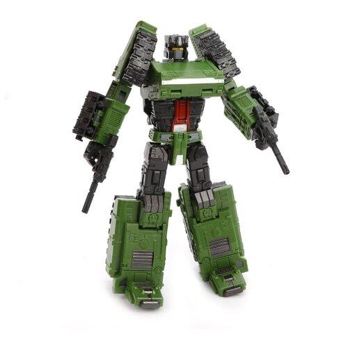 Трансформер Zhorya Ударный отряд Тигр Тора ZYF-0070-2 зеленый/серый трансформер zhorya ударный