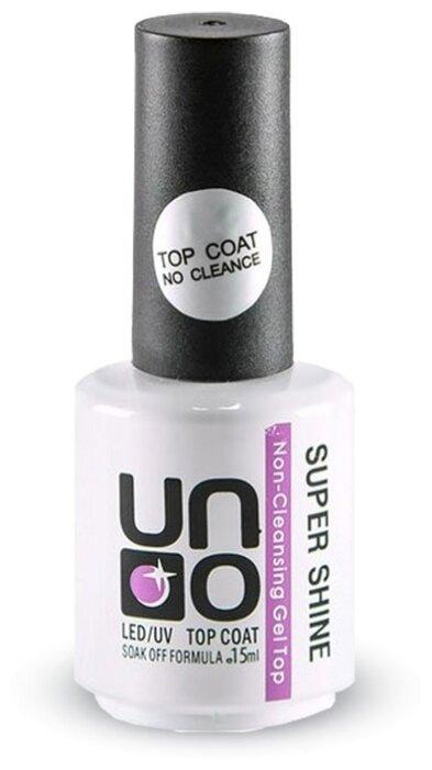 UNO верхнее покрытие LED/UV Super Shine Top Coat 15 мл