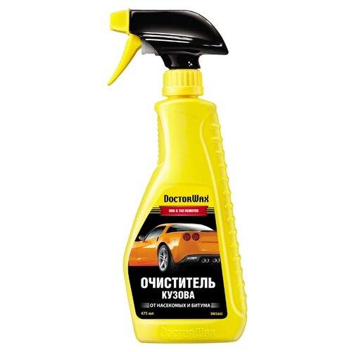 Очиститель кузова Doctor Wax от насекомых и битума DW5643, 0.47 л