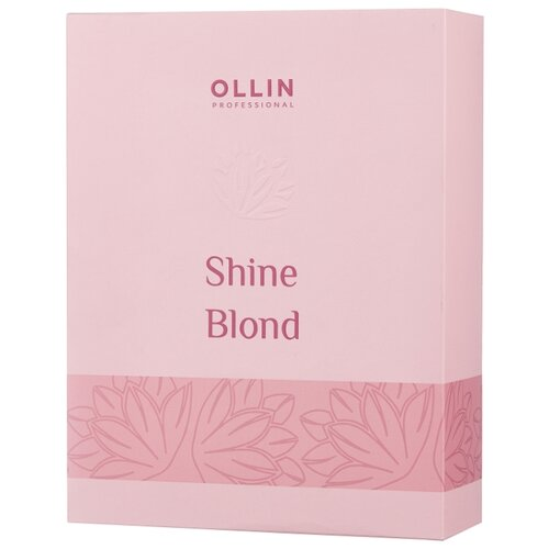 Набор OLLIN Professional Shine blond shine blond echinacea shampoo