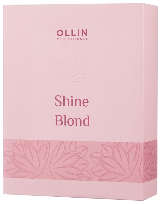 Набор OLLIN Professional Shine blond