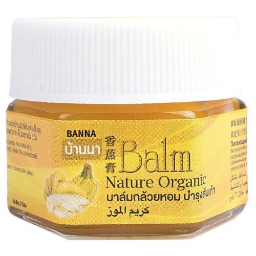 Banna Бальзам для ног Nature Organic с бананом 25 г баночка