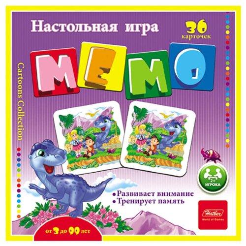Настольная игра Hatber Мемо Динопарк шпаргалки для мамы настольная игра мемо 1