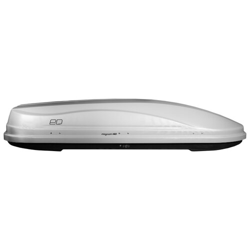 Багажный бокс на крышу Евродеталь Магнум 420 (420 л) серый карбон