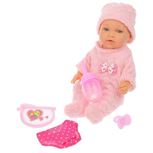 Фото - Интерактивный пупс Rong Long, 27 см интерактивный пупс joy toy маленькая ляля 058 19r