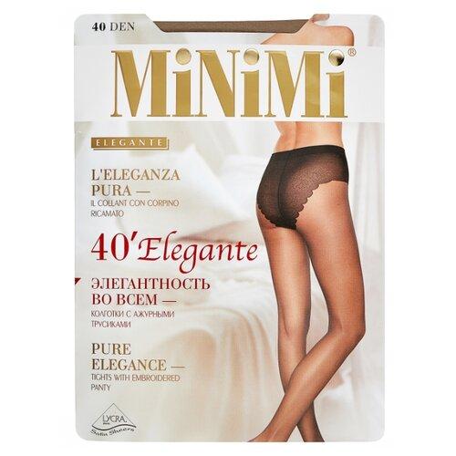 Фото - Колготки MiNiMi Elegante, 40 den, размер 2-S/M, caramello (бежевый) колготки minimi elegante 40 den размер 2 s m nero черный