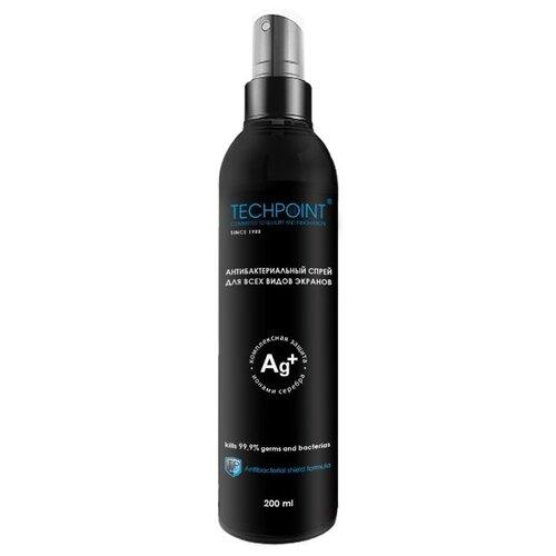 Фото - TECHPOINT Антибактериальный с ионами серебра чистящий спрей для экрана uriage deodorant fraicheur дезодорант спрей с квасцовым камнем 125 мл