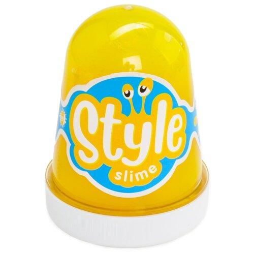 Купить Лизун LORI Style Slime с ароматом банана желтый, Игрушки-антистресс