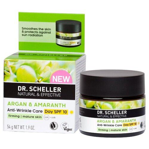 Dr. Scheller Cosmetics Argan & Amaranth Разглаживающий дневной крем для лица Аргана и амарант SPF 10, 50 мл авен физиолифт крем дневной разглаживающий 30 мл