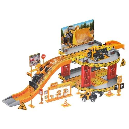Купить Chang Yu CY280-3 желтый/красный/серый, Детские парковки и гаражи