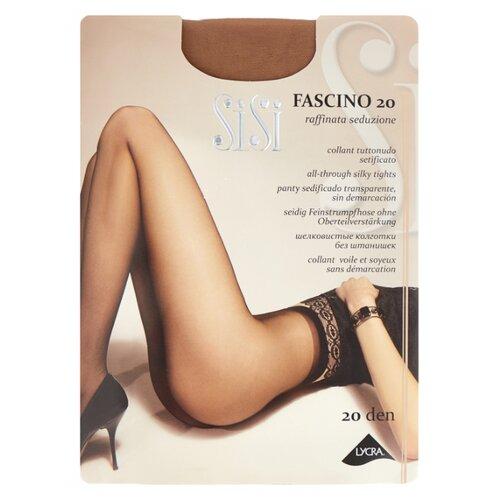 Фото - Колготки Sisi Fascino, 20 den, размер 5-MAXI XL, miele (бежевый) колготки sisi fascino 20 den размер 5 maxi xl miele бежевый