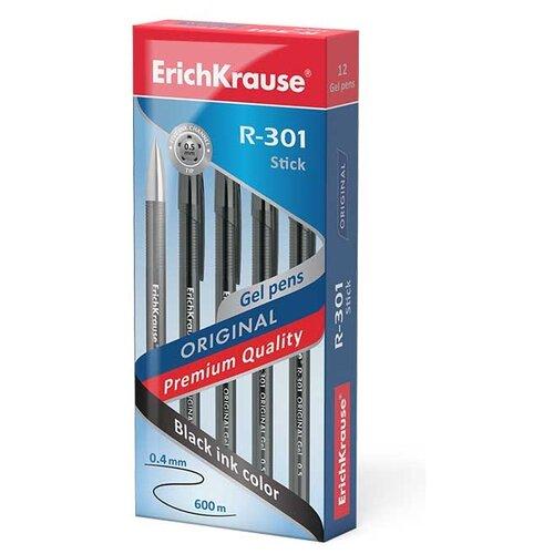 Купить ErichKrause Набор гелевых ручек R-301 Original Gel, 0.5 мм (40318/42721/42722/45156), черный цвет чернил, Ручки