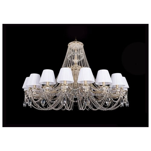 Люстра Bohemia Ivele Crystal 1771 1771/20/490/C/GW/SH2-160, E14, 800 Вт настольная лампа bohemia ivele 7003 1 33 gw sh2 160