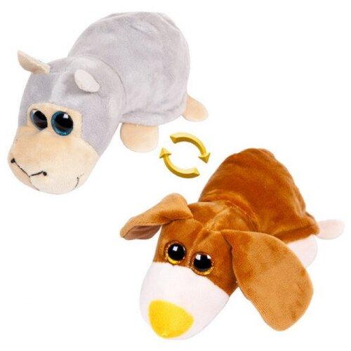 Фото - Мягкая игрушка ABtoys Вывернушка Овечка-Собака 7 см мягкая игрушка abtoys собака m2032 14 см