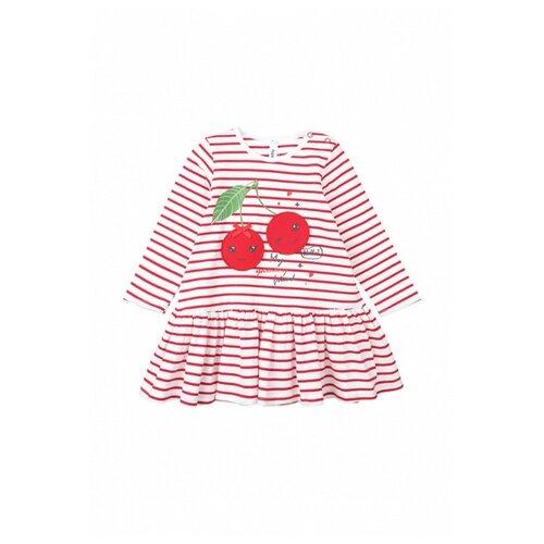 Платье playToday размер 74, красный платье oodji ultra цвет красный белый 14001071 13 46148 4512s размер xs 42 170