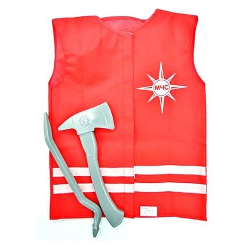 Костюм Leader МЧС №1 (93817), красный