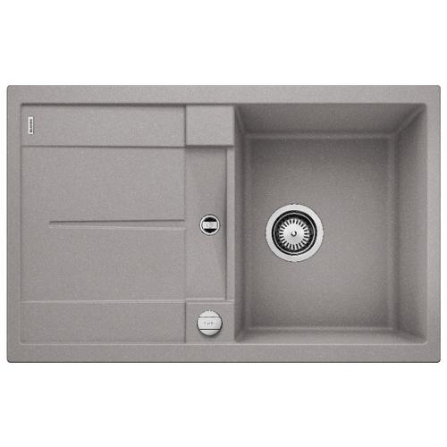 Врезная кухонная мойка 78 см Blanco Metra 45S алюметаллик врезная кухонная мойка 78 см blanco metra 45s 525311 бетон
