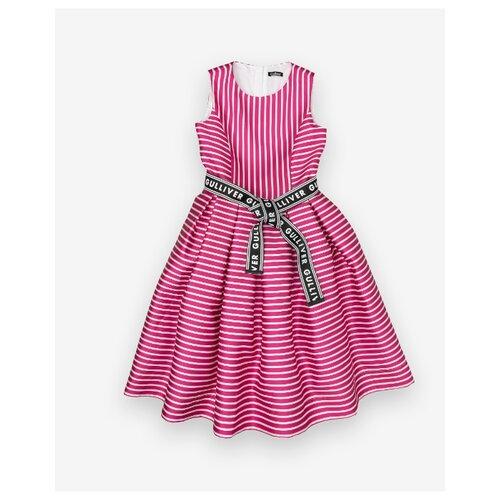 Платье Gulliver размер 152, розовый платье gulliver gulliver gu015egibxz8
