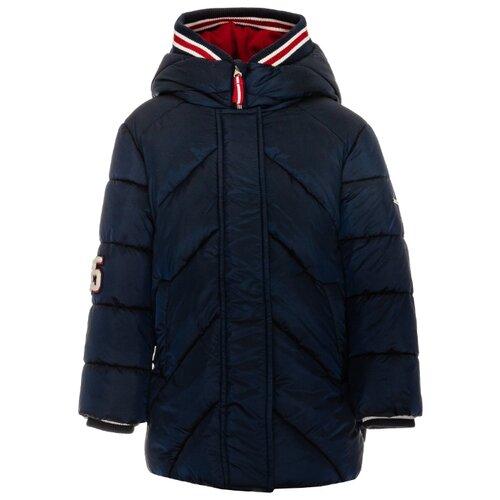 Купить Пуховик Gulliver 21903GMC4504 размер 128, синий, Куртки и пуховики