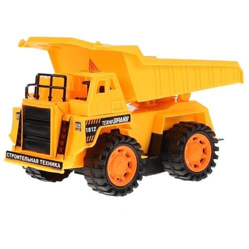 Купить Грузовик Технодрайв B1471309-R 37 см желтый, Радиоуправляемые игрушки