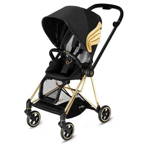 Прогулочная коляска Cybex Mios 2019 Fashion Edition JS wings/gold, цвет шасси: золотистый