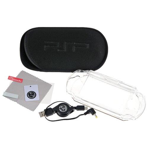 Black Horns Набор аксессуаров 6 в 1 для Playstation Portable (BH-PSE0803) черный