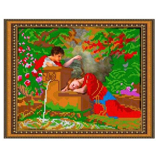 Светлица Набор для вышивания бисером Романтика 24 х 19 см, бисер Чехия (322)
