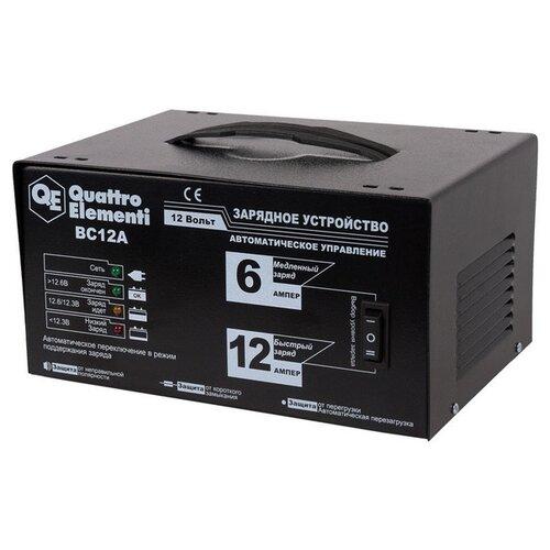Зарядное устройство Quattro Elementi BC12A (770-131) черный зарядноеустройство quattroelementi 770 094 bc12m 12в 12а