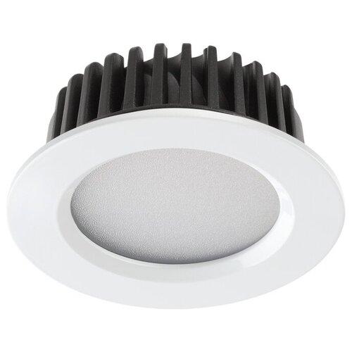 Встраиваемый светильник Novotech Drum 357600 встраиваемый светодиодный светильник novotech drum 357604