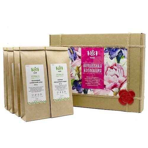 Чай 101 чай Волшебная коллекция ассорти , 320 г фото