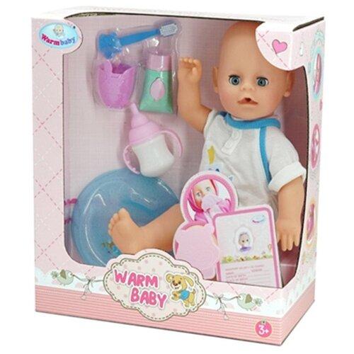 Интерактивный пупс Warm baby, 30 см, WZJ025B-2 пупс oubaoloon 18 см 1601 01