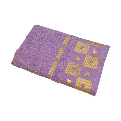 Belezza Полотенце Престиж банное 70х130 см сиреневый