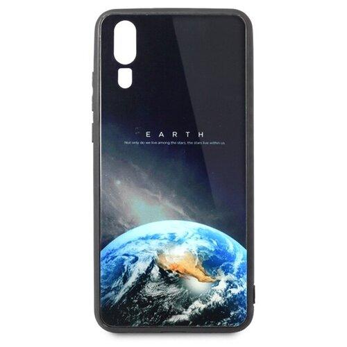 Чехол Pastila Force print glass для Huawei P20 earth