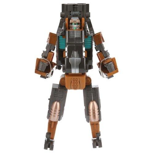 Купить Робот-трансформер Kaili Kaineng Armored X'man. Leopard Gun SB201-4 серый/коричневый, Роботы и трансформеры