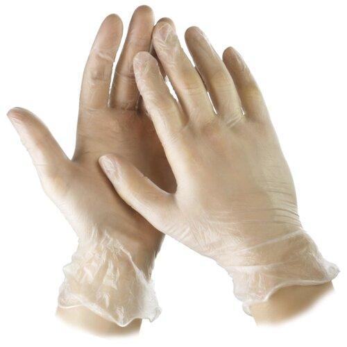 Перчатки STAYER Master виниловые экстратонкие, 50 пар, размер XL, цвет бесцветный
