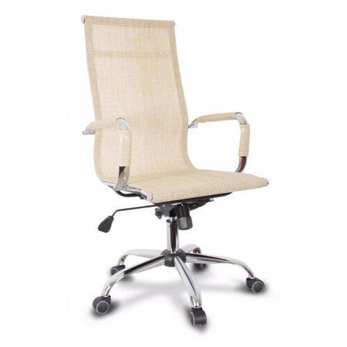 Компьютерное кресло College CLG-619 MXH-A для руководителя, обивка: текстиль, цвет: бежевый компьютерное кресло college clg 619 mxh b офисное обивка текстиль цвет бежевый