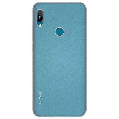 Фото - Чехол LuxCase TPU для Huawei Y6 2019 (прозрачный) бесцветный чехол luxcase tpu для huawei y7 2019 синий